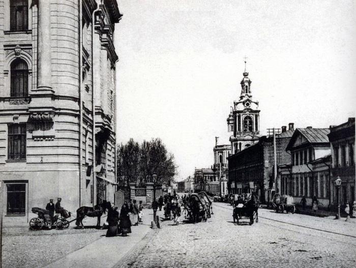 Старая Басманная улица до революции. /Фото:pastvu.com